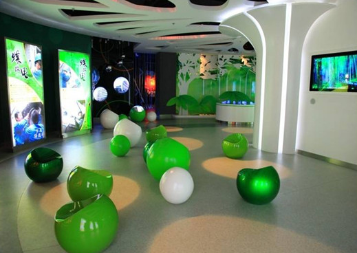 星际元会展集团,拥有包括国家电网,各省市电力展厅,体验中心的成功